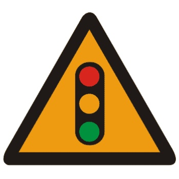 注意信号灯