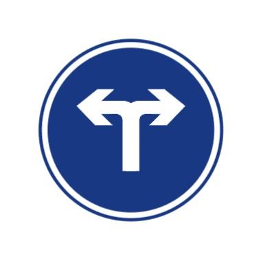 向左和向右转弯