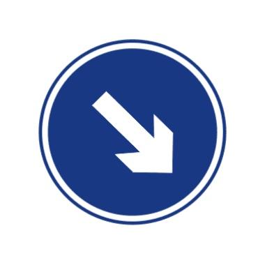 靠右侧道路行驶