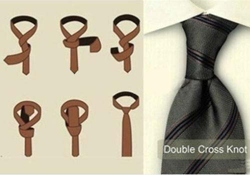 领带双环结打法