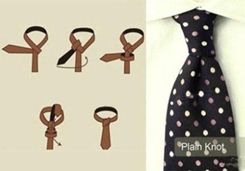 领带十字结打法
